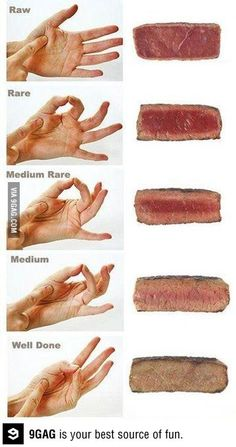 How to tell the consistency of your steak before you eat it