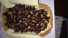 Chestnuts. Here everything is genuine. everything is natural...