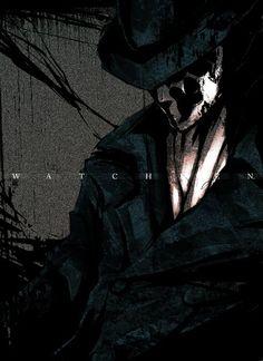 watchmen / rorschah / mr. manhattan / nite owl / comedian #watchmen #dccomics #art #illustration #rorschah #mr. manhattan #nite owl #comedian #poster - Minus.com