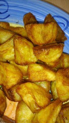 "Crispy fried potatoes! ""Delicious and super crispy everytime!""  @allthecooks #recipe"
