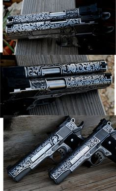 Engraved 1911 Colt 45Loading that magazine is a pain! Get your Magazine speedloader today! http://www.amazon.com/shops/raeind