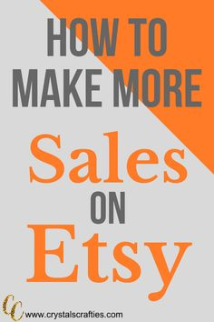 How to make more sales and bring more listing views to your Etsy shop with SEO and Keywords. Etsy Business, Craft Business, Business Ideas, Sell On Etsy, My Etsy Shop, Etsy Co, Make And Sell, How To Make, Interior Design Tips