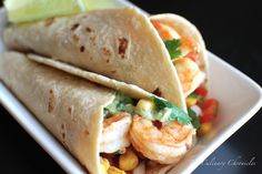 Grilled Shrimp Tacos by theculinarychronicles #Taco #Shrimp #theculinarychronicles