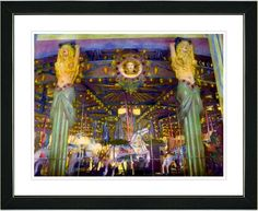 Carousel by Mia Singer Framed Fine Art Giclee Photographic Print