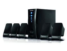 R$ 187,90 ou 3x de R$ 62,63 sem juros - Caixa Acústica + Subwoofer Mondial HT-06 Star 75W USB Tenha 75 watts de potência RMS para melhorar o áudio de seu Home Theather ou do seu som portátil.Com asCaixa Acústica + Subwoofer Mondial HT-06 Starvocê tem entradas USB e SD, entradas ...