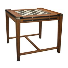 Features:  -Two interchangeable panels offer two game boards..  Game Type: -Chess/Backgammon.  Shape: -Square.  Top Material: -Wood.  Reversible/Removable Top: -Yes. Dimensions:  Overall Height - Top