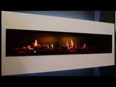 Beautiful Dimplex Opti-V - Electric Flame Effect Fire. Great #interiordesign idea