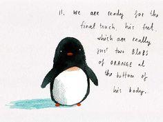 Pinguinos enamorados para dibujar - Imagui
