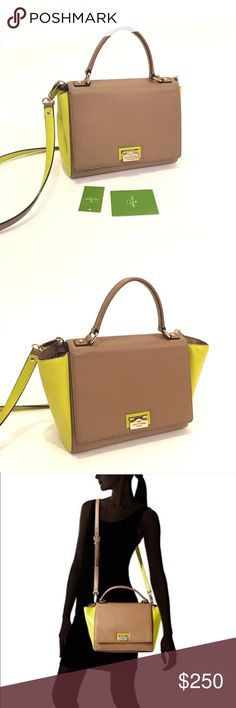 ❤SALE Kate Spade Magnolia Crossbody 100% authentic. Previously owned bag. In great condition. Material is cowhide leather. Double side pocket and zipper pocket inside. Top handle with optional strap and flap & lock closure. Adjustable interior width for different look. Please check the photos. It comes with dustbag. 🚫No trade. kate spade Bags Crossbody Bags