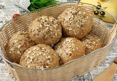 Bułki orkiszowe pełnoziarniste Calzone, Bread Rolls, Paleo, Muffin, Food And Drink, Low Carb, Cooking Recipes, Baking, Breakfast