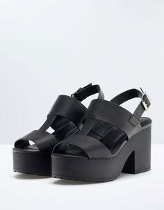 Bershka Turkey -Bershka platform sandals
