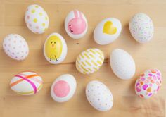 This Easter, use a pink and yellow Sharpie to put your coloring skills to work. Get the tutorial at Mom.me.