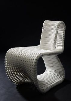 3D printed chair design