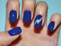 Holographic Glitter Lightning Fancy Nails Nice Accent Hot