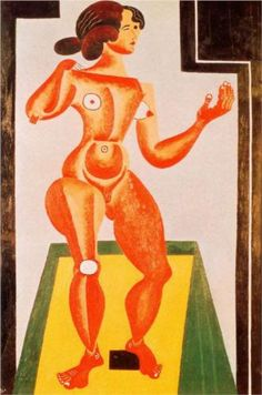 Standing Nude - Joan Miro (1921) ♥ Reputation Line Inc. NY - Branding 4 Fashion