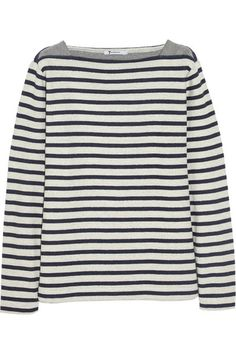 T by Alexander Wang gives the classic Breton top a sporty twist!