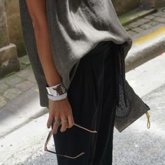 The beautiful and famous blogger @noholita get our Moody Bangle