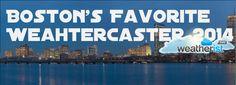 Who's Your Favorite Boston #Weathercaster? Vote now! @ http://bit.ly/bosfav @CBSboston @WCVB @7News @fox25news