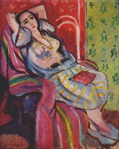 Odalisque by Henri Matisse, 1926