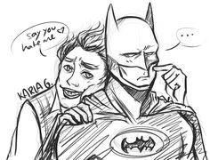 I went to see LEGO Batman today and … I fell in love with EVERYTHING.  God, Dick is so cute and yeah I also end up shipping Batman and the Joker.