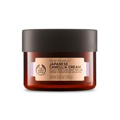Natural Softening Japanese Camellia Oil Body Cream | The Body Shop ® Camellia Oil has been used by Japanese women since the 8th century to gently soften and moisturize skin. It is pressed from the seeds of the same species whose leaves are harvested to create black, white, and green tea. The exquisite scent of this pure and elegant flower allows mind and body to reconnect with a moment of profound peace.