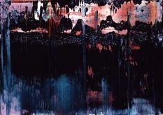 Gerhard Richter, Abstract Painting  1995. 36 cm x 51 cm. Oil on canvas  Catalogue Raisonné: 829-8