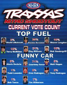nascar fan vote standings