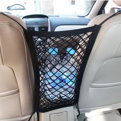 Strong Elastic Car Mesh Net Bag Between Seat Color: Black Material: High Qual. Strong Elastic Car Mesh Net Bag Between Seat Color: Black Material: High Quality Nylon Size: or Pac Mini Vans, Auto Camping, Camping Store, Minivan Camping, Seat Storage, Camper Storage, Storage Hacks, Truck Storage, Extra Storage