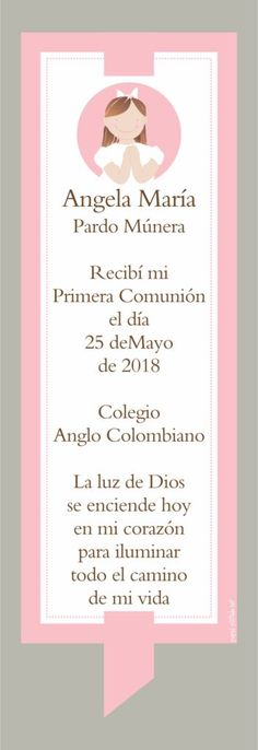 Visit the post for more. Communion Invitations, Ideas Para Fiestas, First Holy Communion, Holi, Party Favors, Diy And Crafts, Religion, Scrapbook, Victoria