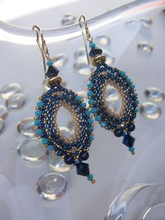 Istanbul earring pattern, available on Etsy