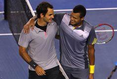 Roger Federer & Jo-Wilfred Tsonga