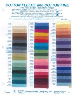 Brown Sheep Company | 80% Pima cotton + 20% Merino wool yarn