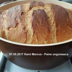 Paine de casa traditionala ungureasca | Savori Urbane Banana Bread, Cabana, Desserts, Food, Bread Baking, Tailgate Desserts, Meal, Dessert, Eten