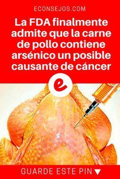 Carne de pollo | La FDA finalmente admite que la carne de pollo contiene arsénico un posible causante de cáncer | Tengan mucho cuidado para aquellos que son amantes del pollo ¡Comparte esta noticia para que podamos ayudar a miles! ¡Si tienes una duda solo déjanos un comentario y te responderemos tan rápido como podemos!