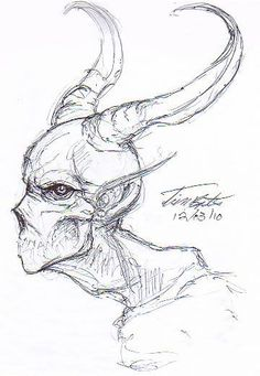 Ideas for art inspiration drawing sketches sketchbooks awesome Scary Drawings, Demon Drawings, Dark Art Drawings, Creature Drawings, Pencil Art Drawings, Art Drawings Sketches, Creepy Sketches, Zombie Drawings, Monster Sketch