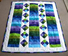 Katherines Dabblings: Jelly Roll Quilt