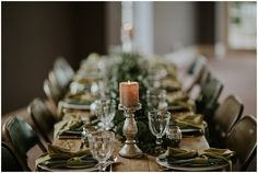 Styled wedding table at Bridwell Park with a autumn vibe