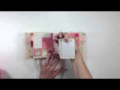 Pocket page mini - Crate Paper Little Bo Peep - Lengthy but easy to follow tutorial by Ginger at My Sisters Scrapper