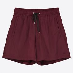 Les Shorts In Port Royale ($93) ❤ liked on Polyvore featuring shorts, wood wood, stretch waist shorts, embroidered shorts, zipper shorts and elastic waist shorts