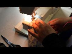 How to sew the waist line of a bubble skirt - YouTube