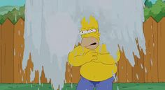 Celebrities accept ice challenge and Homer Simpson accept ice challenge