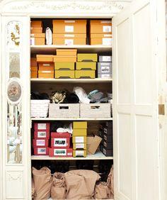 Another purse closet.