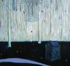 "Saatchi Online Artist Carl Jennings; Painting, ""Starhouse"" #art"