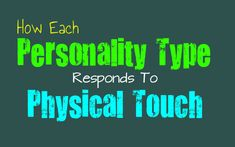 how-each-personality-type-responds-to-physical-touch // The INFJ paradox: most of the time, we do not like being touched, but we do enjoy using it as a means of showing affection to someone we care deeply about. Personality Psychology, Personality Growth, Myers Briggs Personality Types, Myers Briggs Infj, Myer Briggs, Intj And Infj, Enfp Relationships, Introvert Problems, Entp