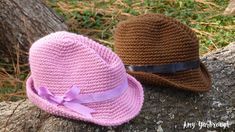 Snappy Fedora (3 Sizes) | Free Crochet Pattern - Ginger Peachy