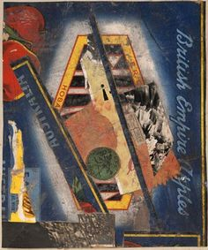 """Kurt Schwitters: """"Out Of The Dark"""" 1943"""