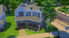 Annabell house by PolarBearSims at Mod The Sims via Sims 4 Updates