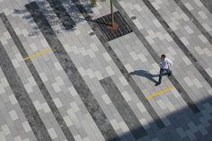 pedestrian street grey pavement - Google Search