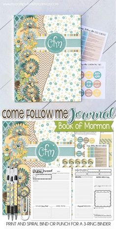 Planning With a Purpose Tutorial Study Journal, Book Journal, Journals, Planner Tabs, Lds Scriptures, Scripture Study, Scripture Journal, Visiting Teaching, Book Of Mormon