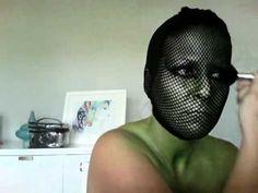 Halloween Makeup - Lizard Lady